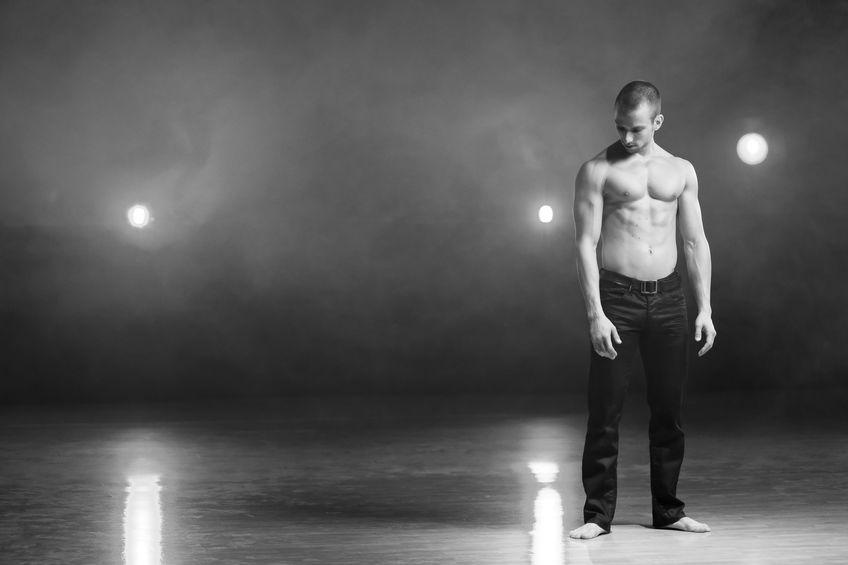 world-class male dancer