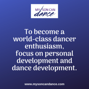 world-class dancers focus on personal development